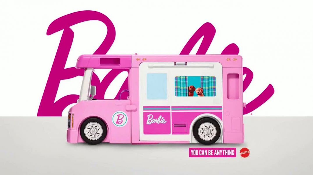 Barbie Dream Camper TV Commercial Ad 2020, All In One