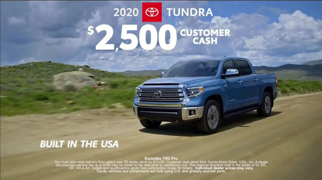 Toyota TV Commercial Ad 2020, Summer Road Trips