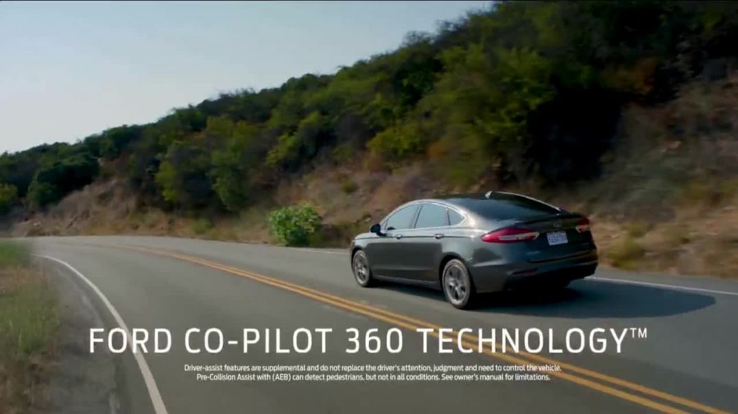 2020 Ford Fusion TV Commercial Ad 2020, Get Up & Get Going