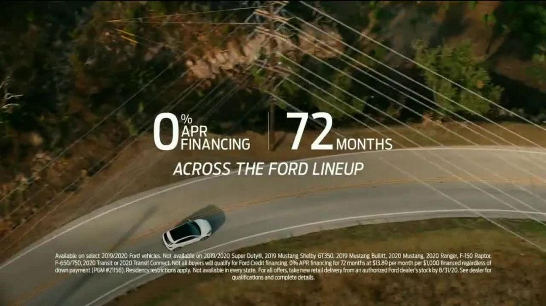 Ford Summer Sales Event TV Commercial Ad 2020, Ford Promise- Getting Back to It