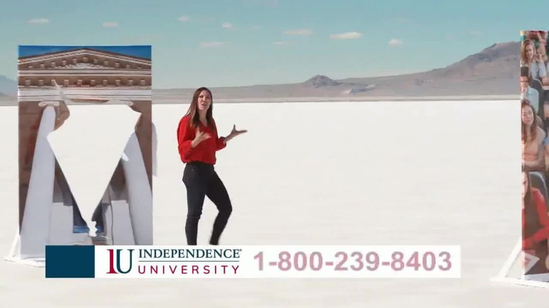 Independence University TV Commercial Ad 2020, No Barriers to Your Degree