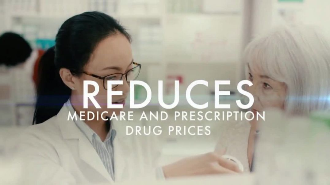 Donald J Trump for President TV Commercial Ad 2020, Drug Companies
