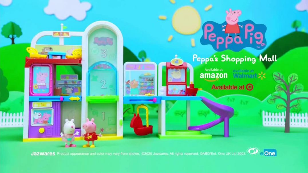 Peppa Pig Peppas Shopping Mall TV Commercial Ad 2020, The Perfect Day