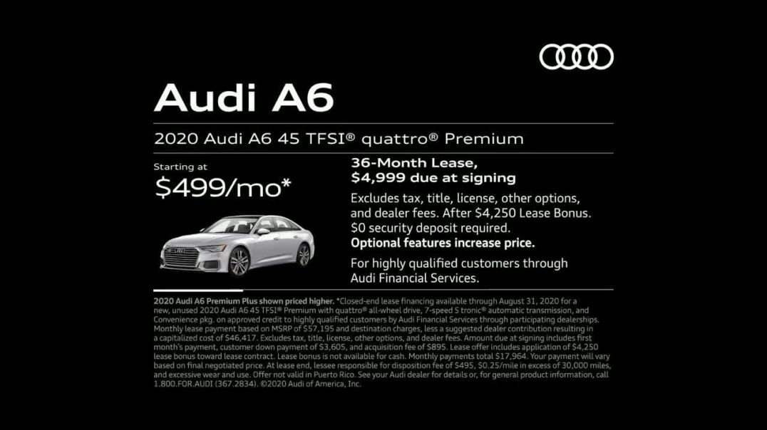 2020 Audi A6 TV Commercial Ad 2020, Hair