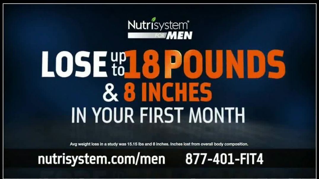Nutrisystem 50_50 Deal TV Commercial Ad 2020, Time to Get Healthy- 18 Pounds