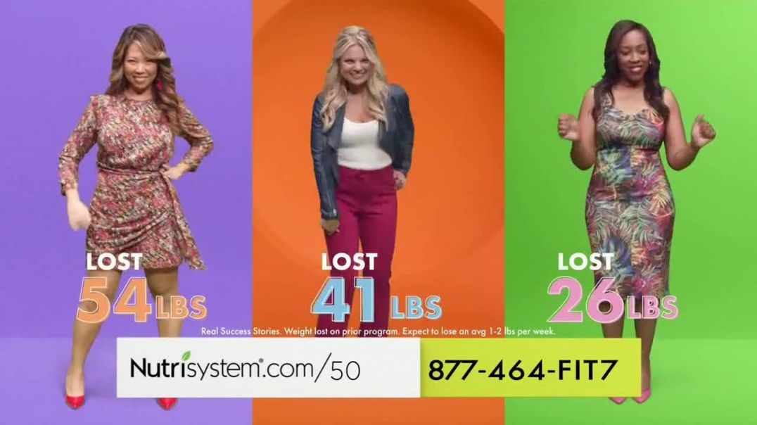 Nutrisystem Personal Plans TV Commercial Ad 2020, Built For Your Body- Save 50 % + Shakes