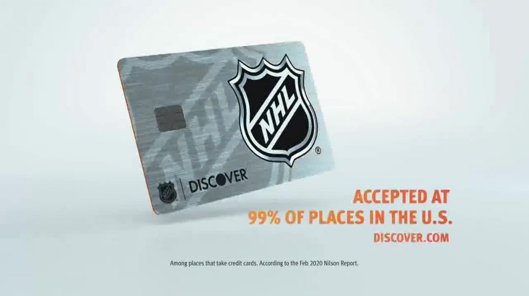 Discover Card TV Commercial Ad 2020, Hockey Fans- Yes