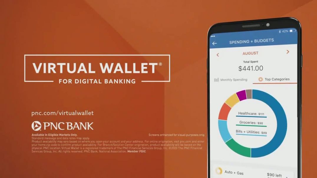 PNC Bank Virtual Wallet for Digital Banking TV Commercial Ad 2020, Henry
