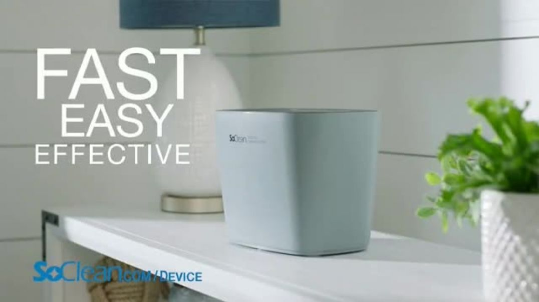 SoClean Device Disinfector TV Commercial Ad 2020, Activated Oxygen Technology
