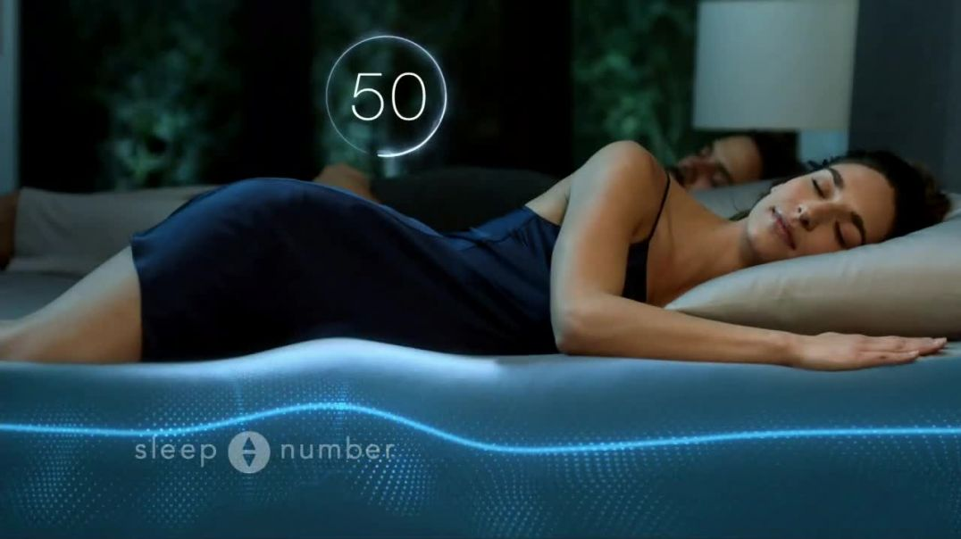 Sleep Number Biggest Sale of the Year TV Commercial Ad 2020, Snoring- Save 50% and Free Delivery