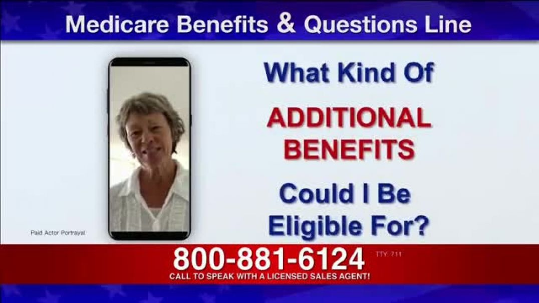 Medicare Benefits Helpline TV Commercial Ad 2020, Additional Benefits Questions