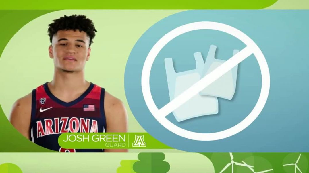 Pac-12 Conference TV Commercial Ad 2020, Team Green- University of Arizona
