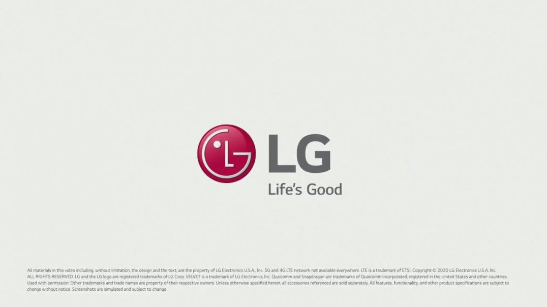 LG VELVET TV Commercial Ad 2020, Whats Your Favorite Thing-