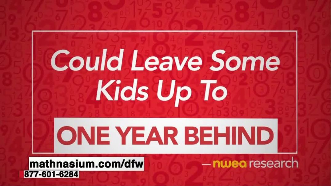 Mathnasium TV Commercial Ad 2020, School Shutdowns Giving Your Kid the Math Blues-