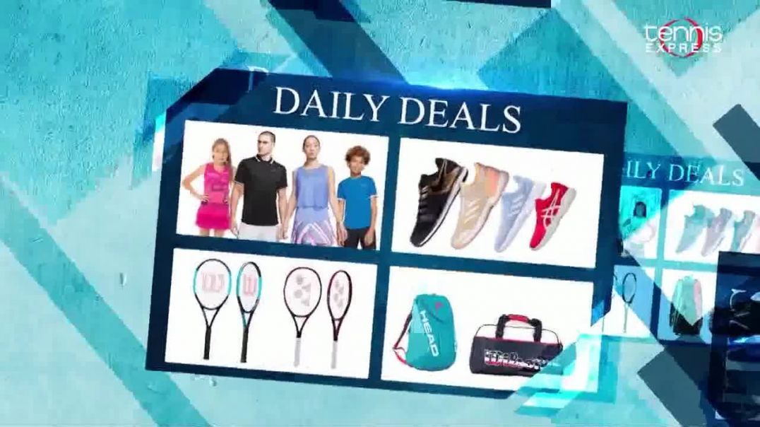 Tennis Express Grand Slam Sale TV Commercial Ad 2020, Daily Deals- Extra 20% Off