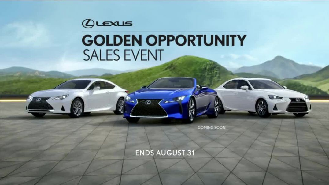 Lexus Golden Opportunity Sales Event TV Commercial Ad 2020, Performance- Day Trips