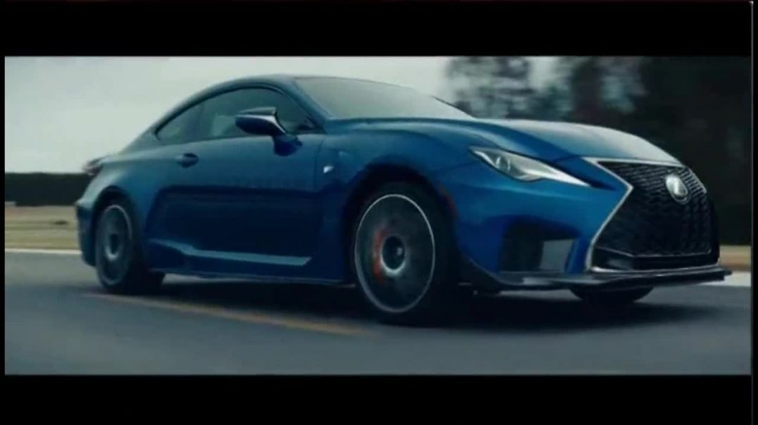 Lexus RC F TV Commercial Ad 2020, Around the Track