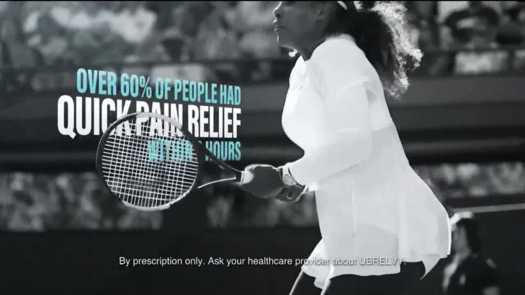 UBRELVY TV Commercial Ad 2020, Stop Migraines in Its Tracks Featuring Serena Williams