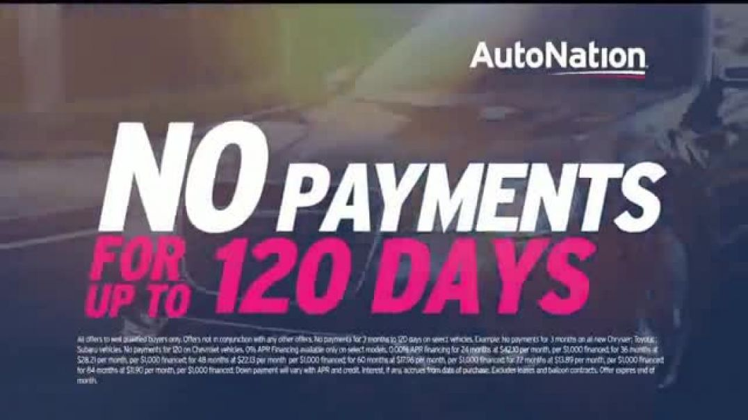 AutoNation TV Commercial Ad 2020, Back on the Road Financing