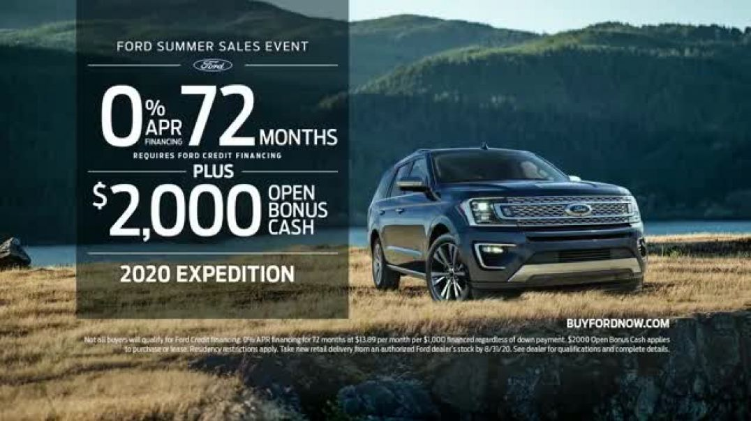 Ford Summer Sales Event TV Commercial Ad 2020, Make the Most Song by Kygo, Whitney Houston