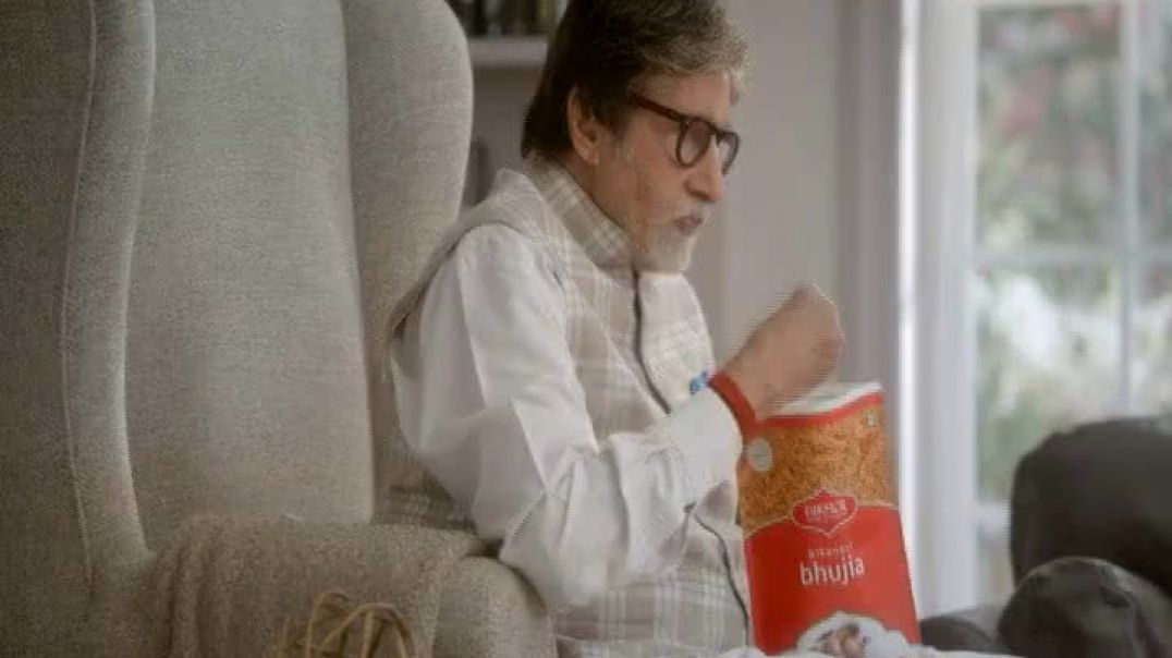 Bikaji TV Commercial Ad 2020, Amitji Loves Bikaji- Sharing Is Caring- Featuring Amitabh Bachchan
