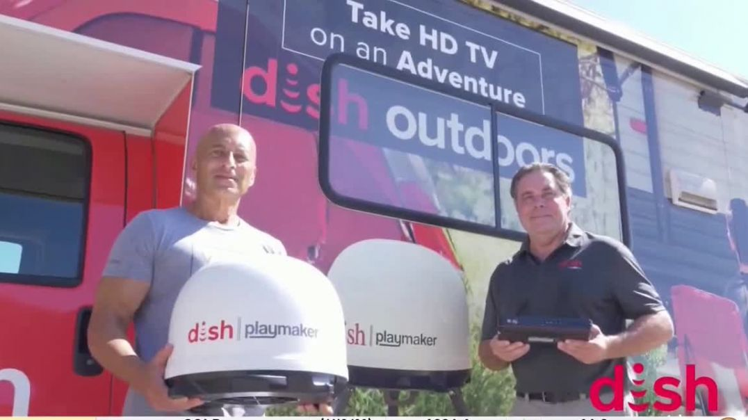 Dish Outdoors TV Commercial Ad 2020, For Your Next Road Trip