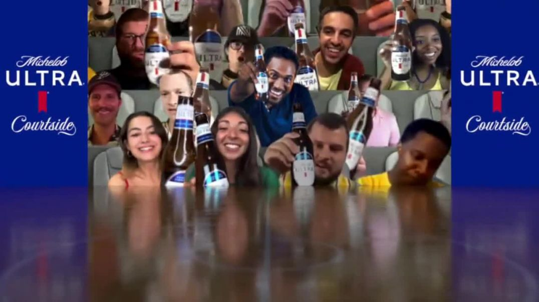 Michelob ULTRA Courtside TV Commercial Ad 2020, See the Game