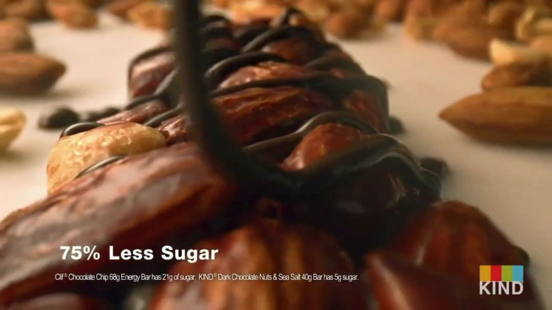 KIND Snacks Dark Chocolate Nuts & Sea Salt TV Commercial Ad 2020, Heart Healthy Almonds
