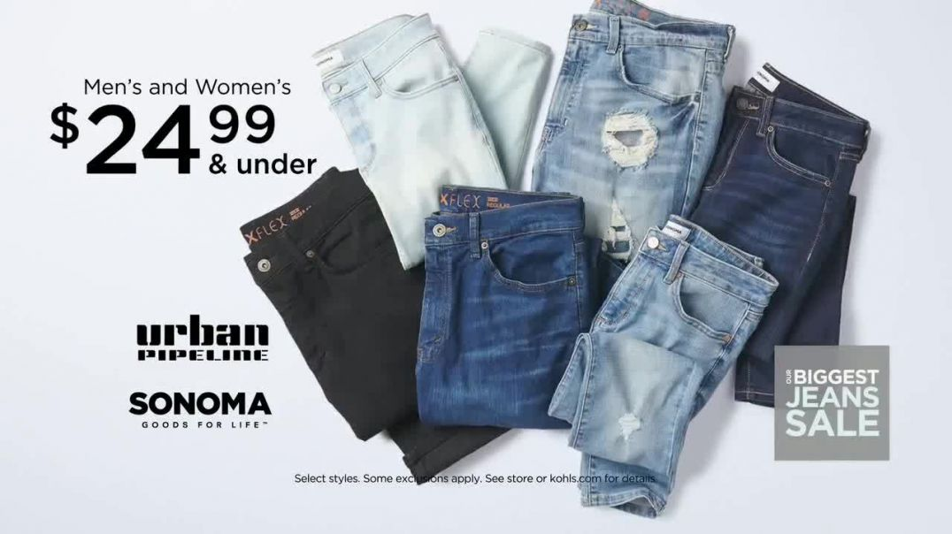Kohls Biggest Jeans Sale TV Commercial Ad 2020, Levis, Denim and Kohls Cash