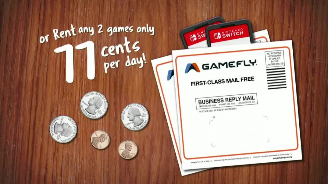 GameFlycom TV Commercial Ad 2020, Spare Change- Animal Crossing- New Horizons