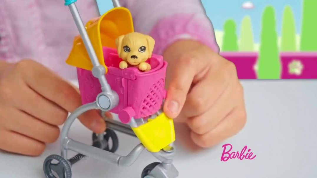 Barbie Stroll n Play Pups TV Commercial Ad 2020, Room for More