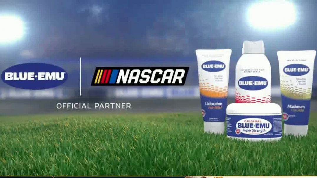 Blue-Emu TV Commercial Ad 2020, NASCAR- New Look