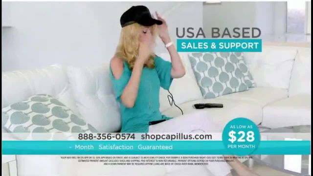 Capillus Laser Cap TV Commercial Ad 2020, Treat Hair Loss at Home $28 per Month
