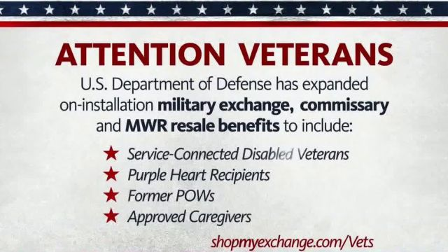 The Exchange TV Commercial Ad 2020, Disabled Veterans and Purple Heart Recipients