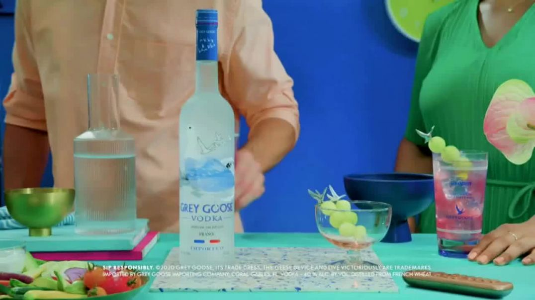 Grey Goose TV Commercial Ad 2020, US Open Watch Party- Honey Deuce Cocktail Song by Speedometer