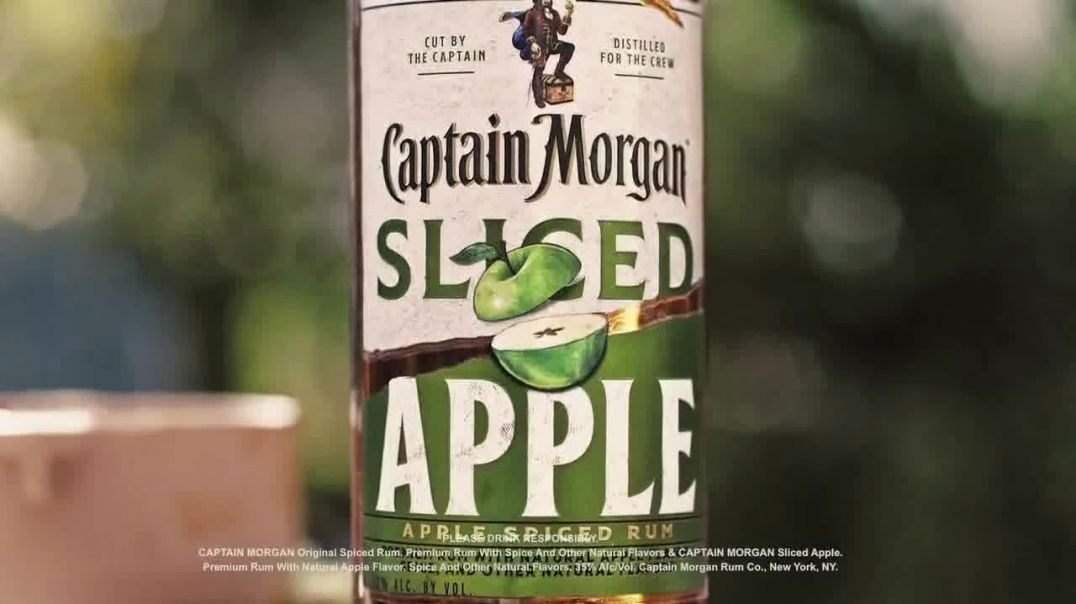 Captain Morgan Sliced Apple TV Commercial Ad 2020, Bad With Names