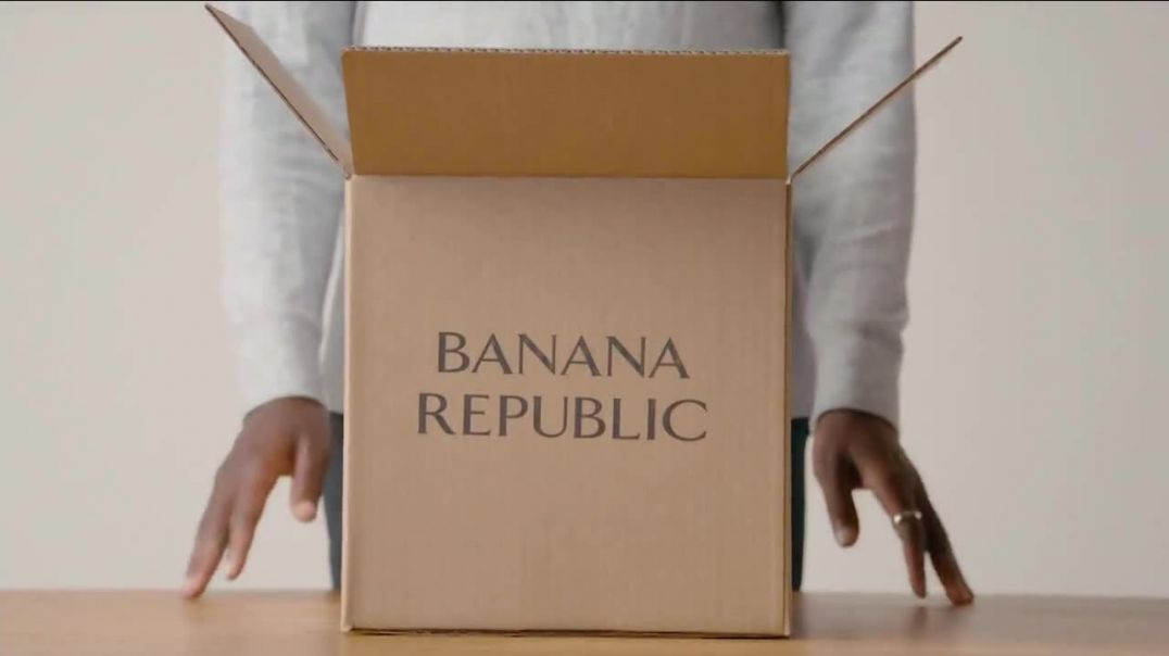 Banana Republic TV Commercial Ad 2020, Will Work for a Better Republic