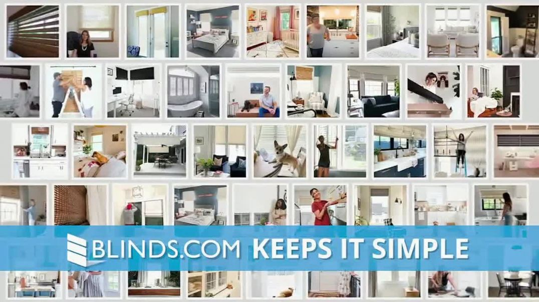 Blindscom Labor Day Savings TV Commercial Ad 2020, 40% Off Everything