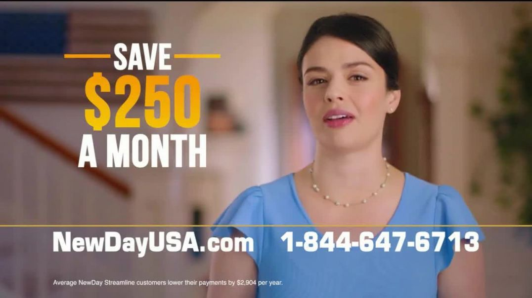 NewDay USA VA Streamline Refi TV Commercial Ad 2020, Record Lows- Save $250 a Month