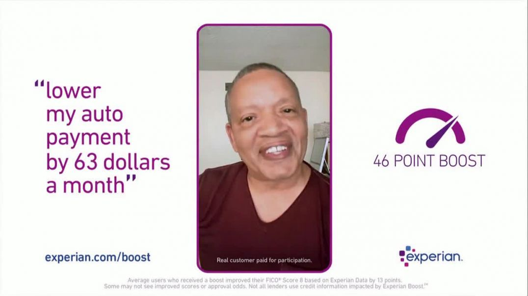 Experian Boost TV Commercial Ad 2020, Lower My Auto Payment