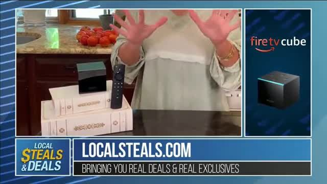 Local Steals & Deals TV Commercial Ad 2020, Fire TV Cube Featuring Lisa Robertson