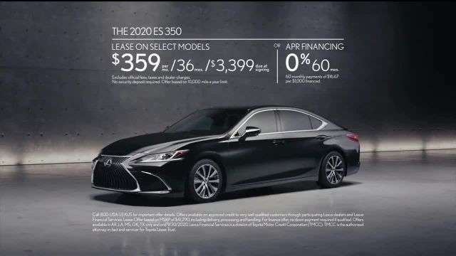 2020 Lexus ES TV Commercial Ad 2020, Why Bother