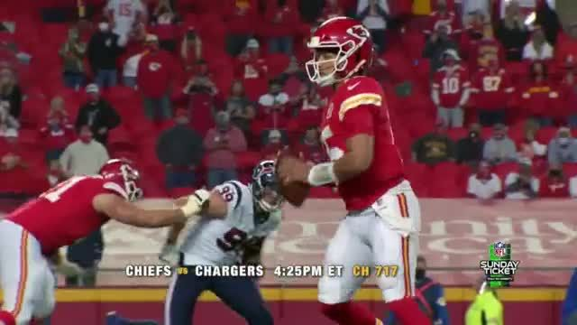 DIRECTV NFL Sunday Ticket TV Commercial Ad 2020, Week Two Games Featuring Patrick Mahomes