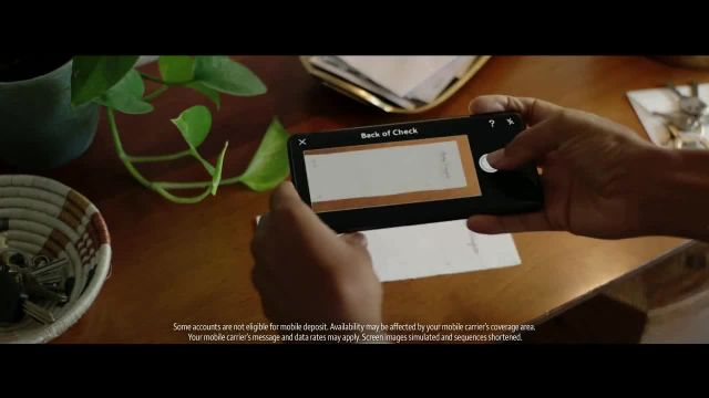 Wells Fargo Mobile Deposit TV Commercial Ad 2020, Bank Without Missing a Beat Shutterbug Sally