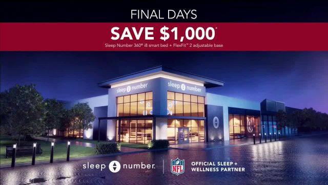 Sleep Number Biggest Sale of the Year TV Commercial Ad 2020, Ends Monday- Snoring- $1,000