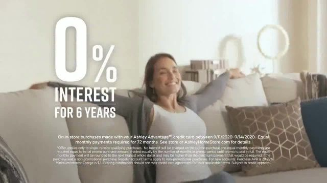 Ashley HomeStore Labor Day Sale TV Commercial Ad 2020, Extended- 30% off Plus 10%