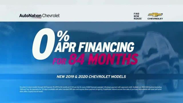 AutoNation Fast Start Sales Event TV Commercial Ad 2020, Group Offer Chevrolet Featuring Alexander R