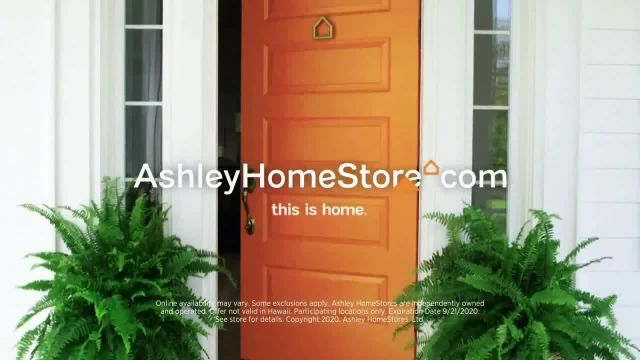 Ashley HomeStore SemiAnnual Sale TV Commercial Ad 2020, Up to 25% Off & 0% Interest 36 M