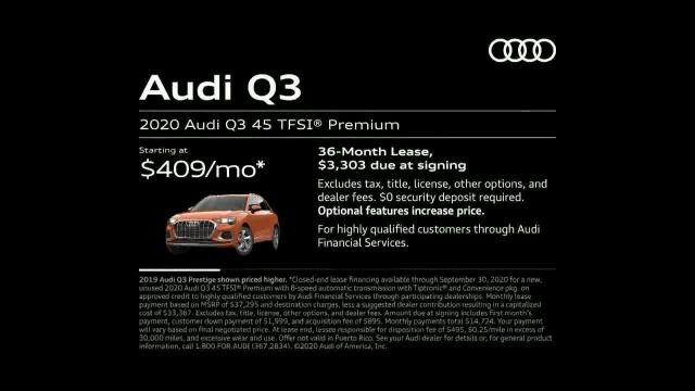 2020 Audi Q3 TV Commercial Ad 2020, Touch