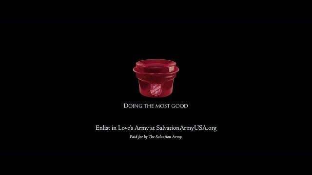 The Salvation Army TV Commercial Ad 2020, Help Rescue Christmas Song by Lauren Daigle